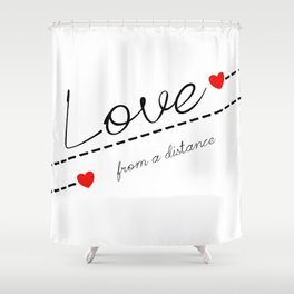 Distant Love Shower Curtain