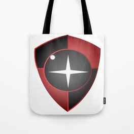 Red Black Sight Tote Bag