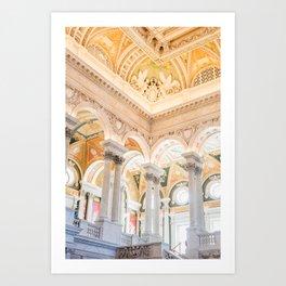 library of congress Art Print