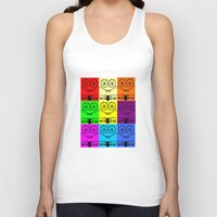 spongebob Tank Tops featuring Spongebob by chauloom