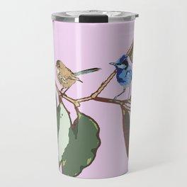 Splendid Fairy-wren Malurus splendens Travel Mug