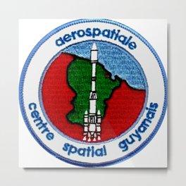 Centre Spatial Guyanais (CSG) Metal Print