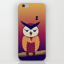 nocturnal [pt.4] iPhone Skin