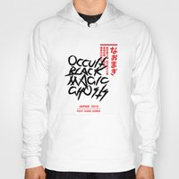 occult Hoodies featuring Occult Black Magic Ghosts - JAPAN 2015 by ENSOR