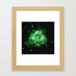 Spirit Lion Framed Art Print