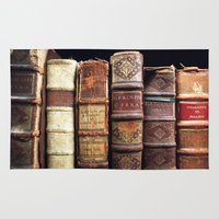 library Area & Throw Rugs featuring Library by Mad Marys