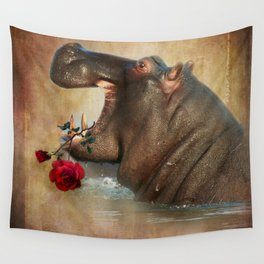 Feeling Strong Wall Tapestry