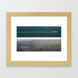 Captiva Watermark Project Framed Art Print