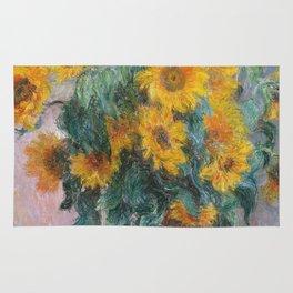 Claude Monet - Bouquet Of Sunflowers Rug