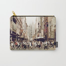Urban Industrial Photo Art: Big City Life Carry-All Pouch