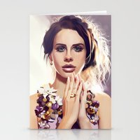 lana Stationery Cards featuring Lana by MartaDeWinter