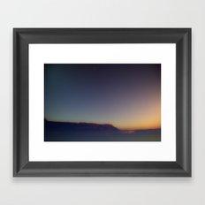 .bay. Framed Art Print