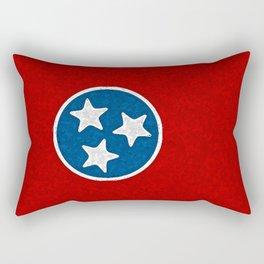 Fancy Flag:  Tennessee Rectangular Pillow