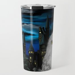 Hedwig at Hogwarts Travel Mug