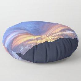 """Sunrise Horizon 2"" by Murray Bolesta Floor Pillow"