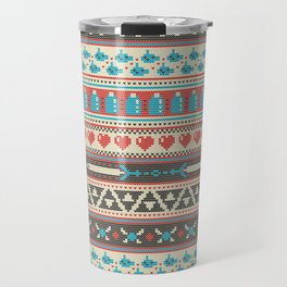 Fair-Hyle Knit Travel Mug