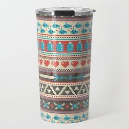 Fair-Hyle Knit Travel Mug