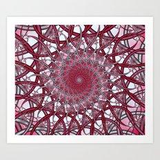 Spiraling infinity Art Print