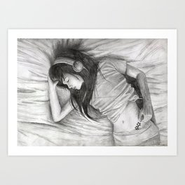 Music, Send me to Sleep Art Print