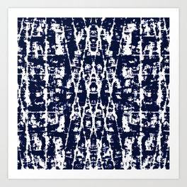 Batik Geometric Art Print