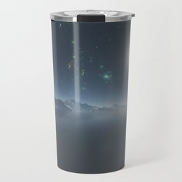 Alien planet ocean Travel Mug