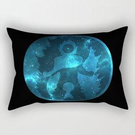 Yin Yang Super Saiyan God Symbol Rectangular Pillow
