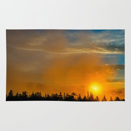 Gold Mist Sunset Rug