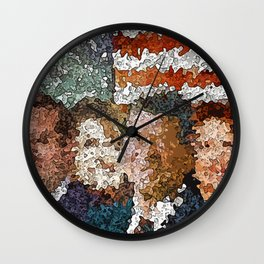 Conservative Americans Wall Clock