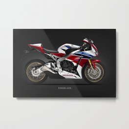 The CBR1000RR Fireblade Metal Print