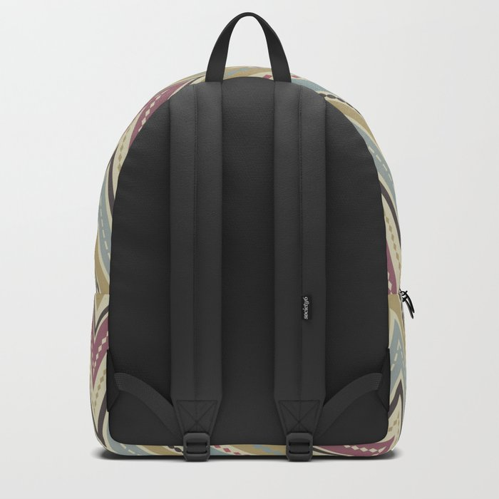 Ethnic patterns. Tribal pattern . Backpack