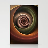 fractal Stationery Cards featuring Fractal by gabiw Art