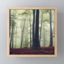 Towering Trees Framed Mini Art Print