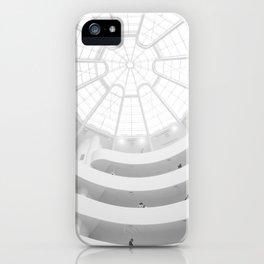 Guggenheim Interior | Frank Frank Lloyd Wright Architect | New York iPhone Case