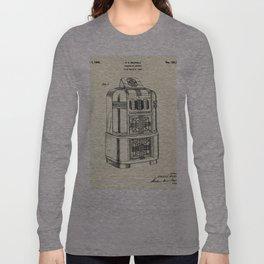 Phonograph Cabinet-1940 Long Sleeve T-shirt