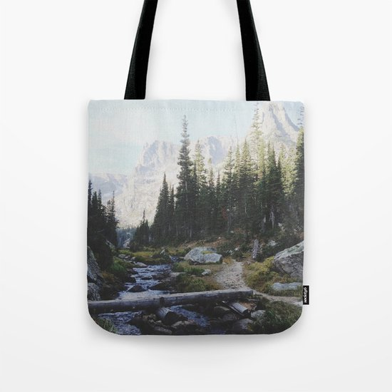 Rocky Mountain Creek Tote Bag
