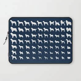 All Dogs (Navy) Laptop Sleeve