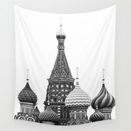 saint basil cathedral | red square, moscow, russia Wall Tapestry