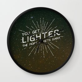 A Sky Full Of Stars Wall Clock