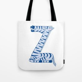 Uppercase Z, no border Tote Bag
