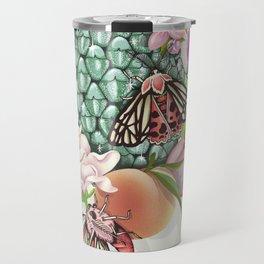 Glam Tropical - silver version Travel Mug