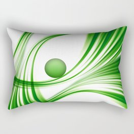 Green 113 Rectangular Pillow