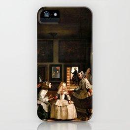 """Diego Velázquez """"Las Meninas (The Maids of Honour)"""" iPhone Case"""