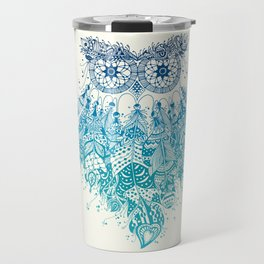 Blue Dream Catcher Travel Mug