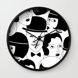 20s Glam Wall Clock