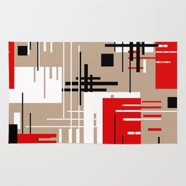 Abstract pattern Ретро1 Rug