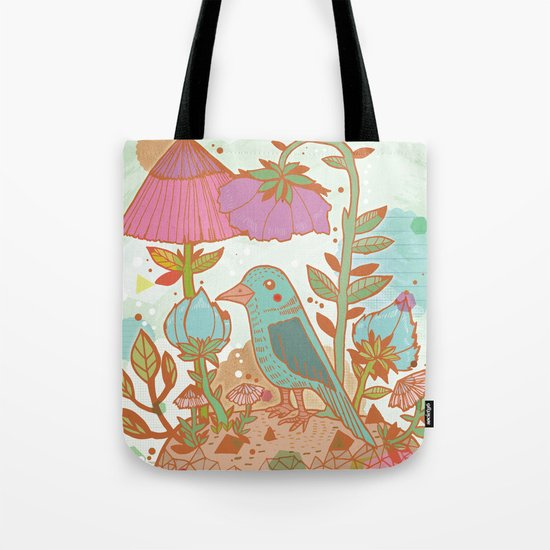 The Blue Bird Tote Bag
