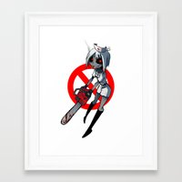 nurse Framed Art Prints featuring Nurse by M-chi