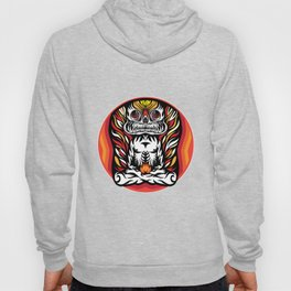 Illustration Demon in the lotus position Hoody
