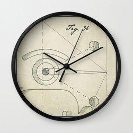 optical [d]effect Wall Clock