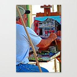 Locke On Canvas Canvas Print